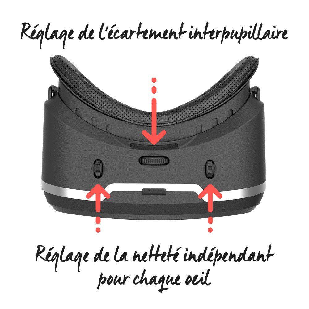 VR Shinecon G02C casque de réalité virtuelle compatible avec Google Cardboard 14