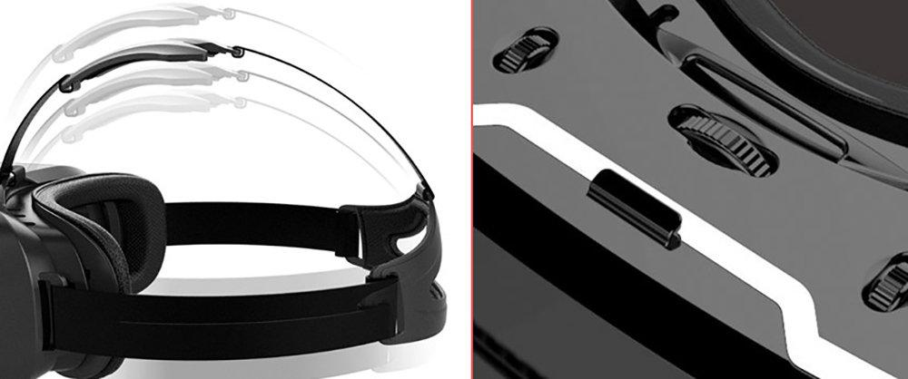 VR Shinecon G02C casque de réalité virtuelle compatible avec Google Cardboard 16