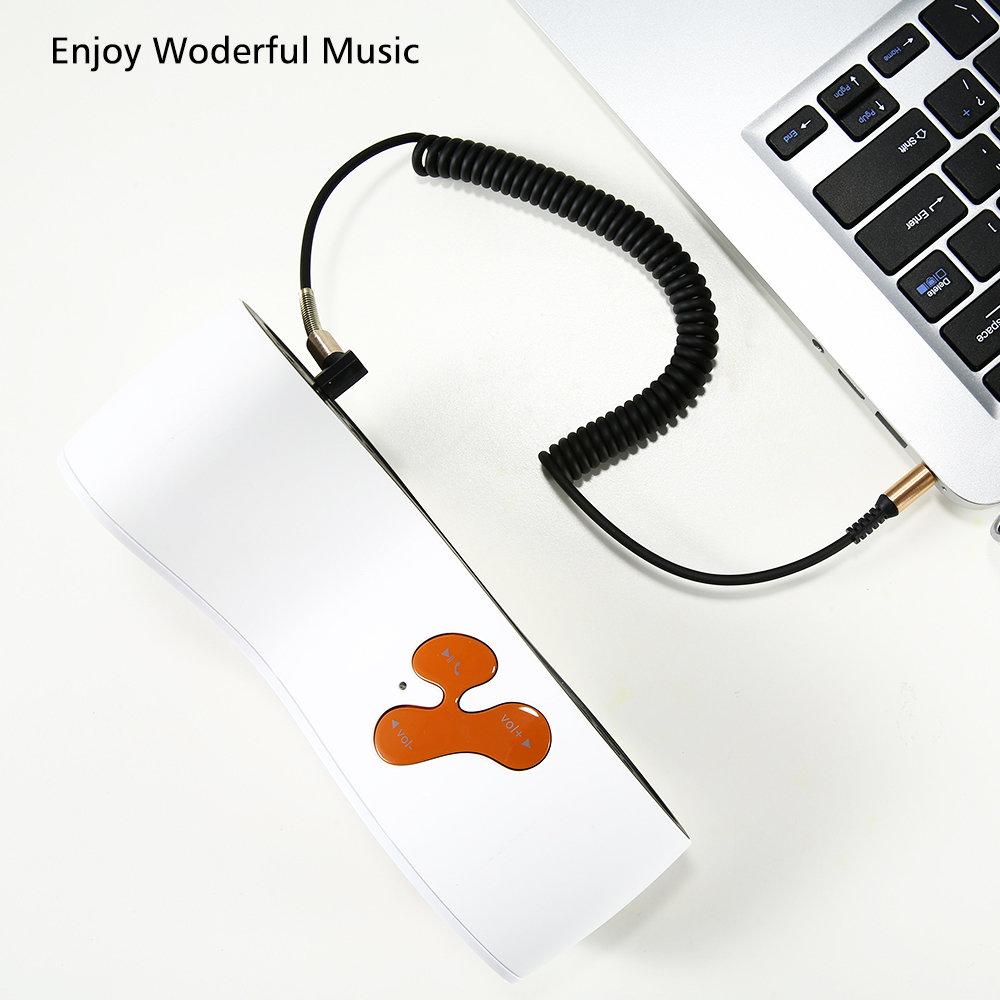 Câble flexible connecteur Jack Audio auxiliaire 3.5 mm - accessoire smartphone 1