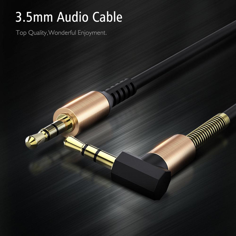 Câble flexible connecteur Jack Audio auxiliaire 3.5 mm - accessoire smartphone 13