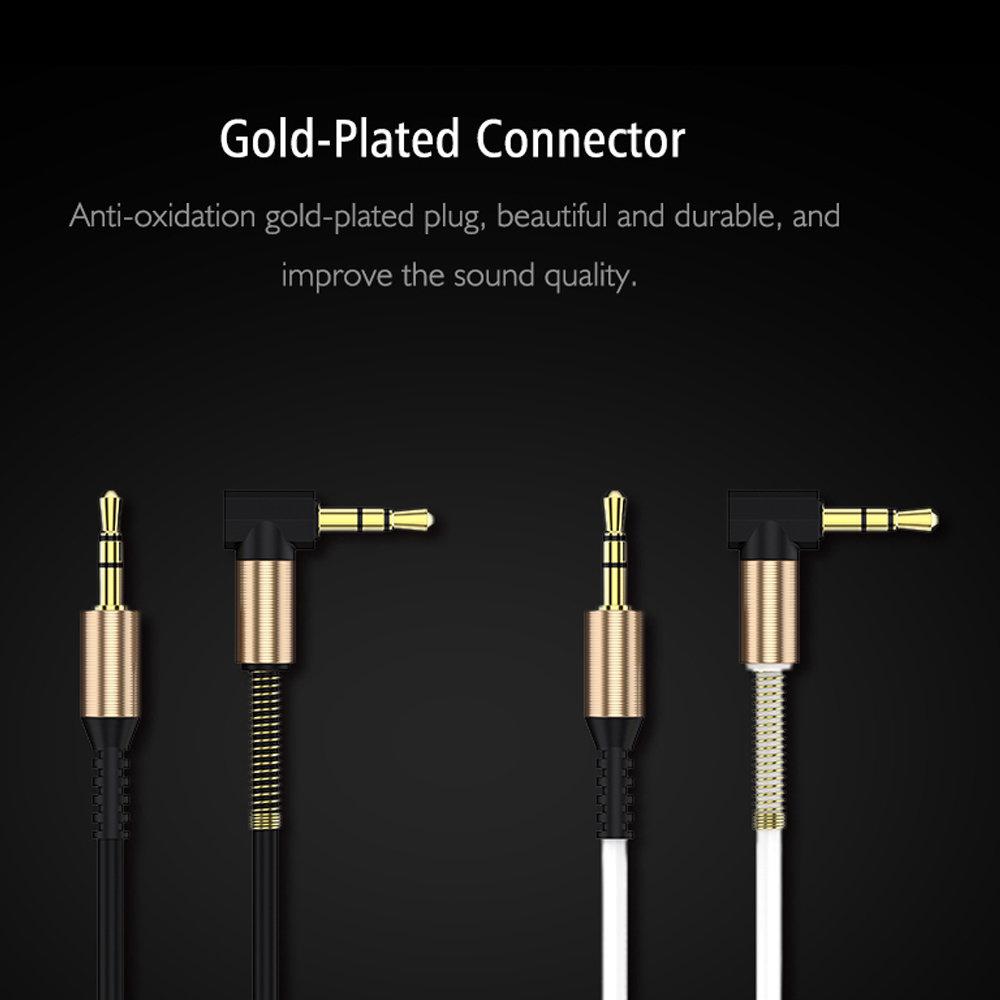 Câble flexible connecteur Jack Audio auxiliaire 3.5 mm - accessoire smartphone 14