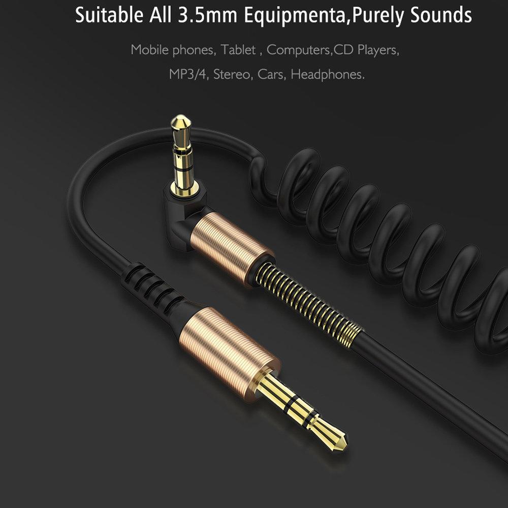 Câble flexible connecteur Jack Audio auxiliaire 3.5 mm - accessoire smartphone 17