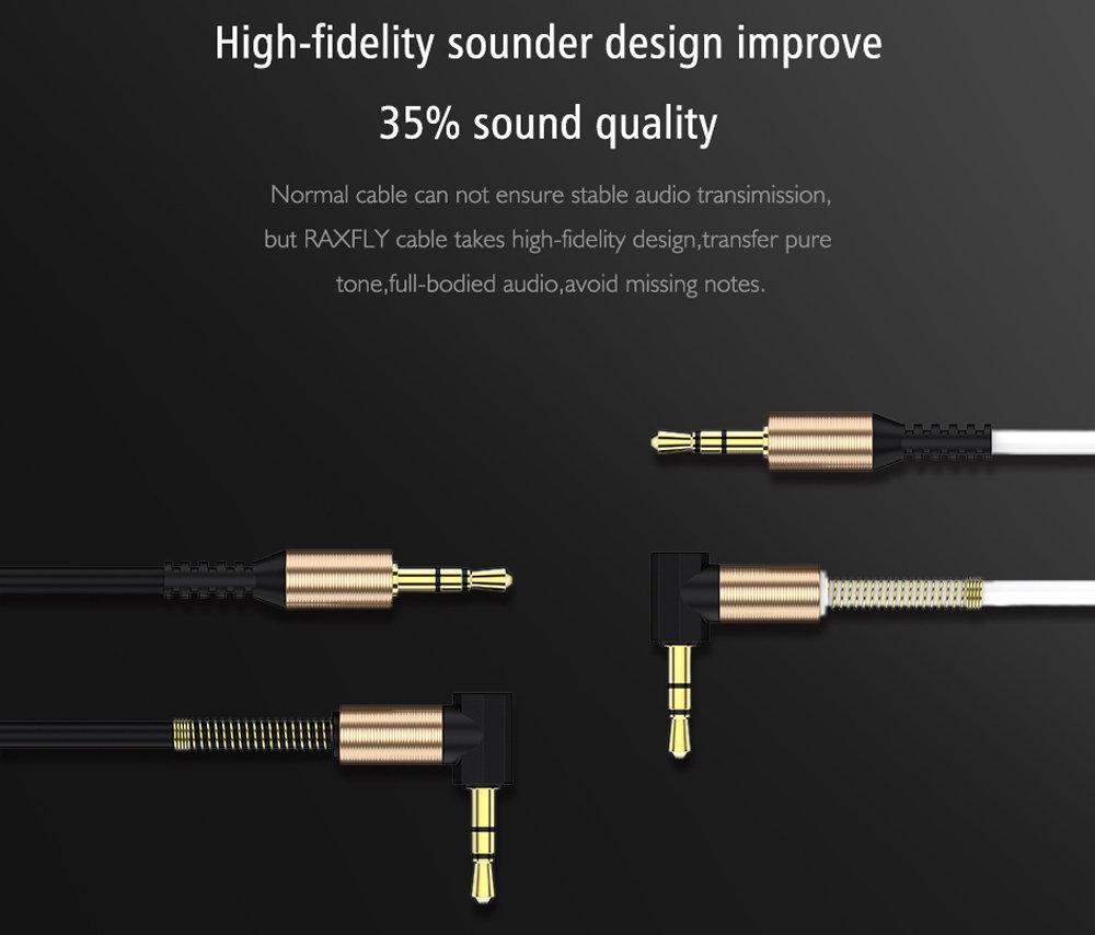 Câble flexible connecteur Jack Audio auxiliaire 3.5 mm - accessoire smartphone 111
