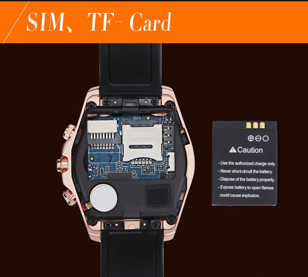 accessoire smartphone - montre connectée et téléphone SmartWatch RS500 16
