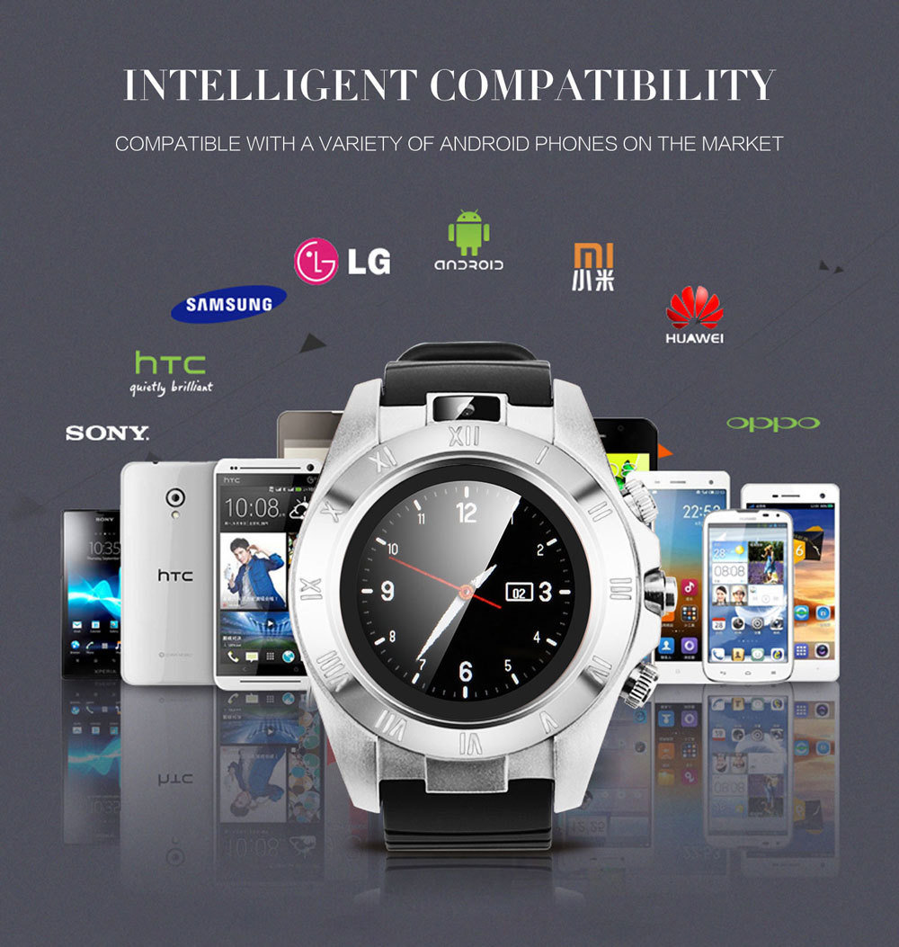 accessoire smartphone - montre connectée et téléphone SmartWatch RS500 11