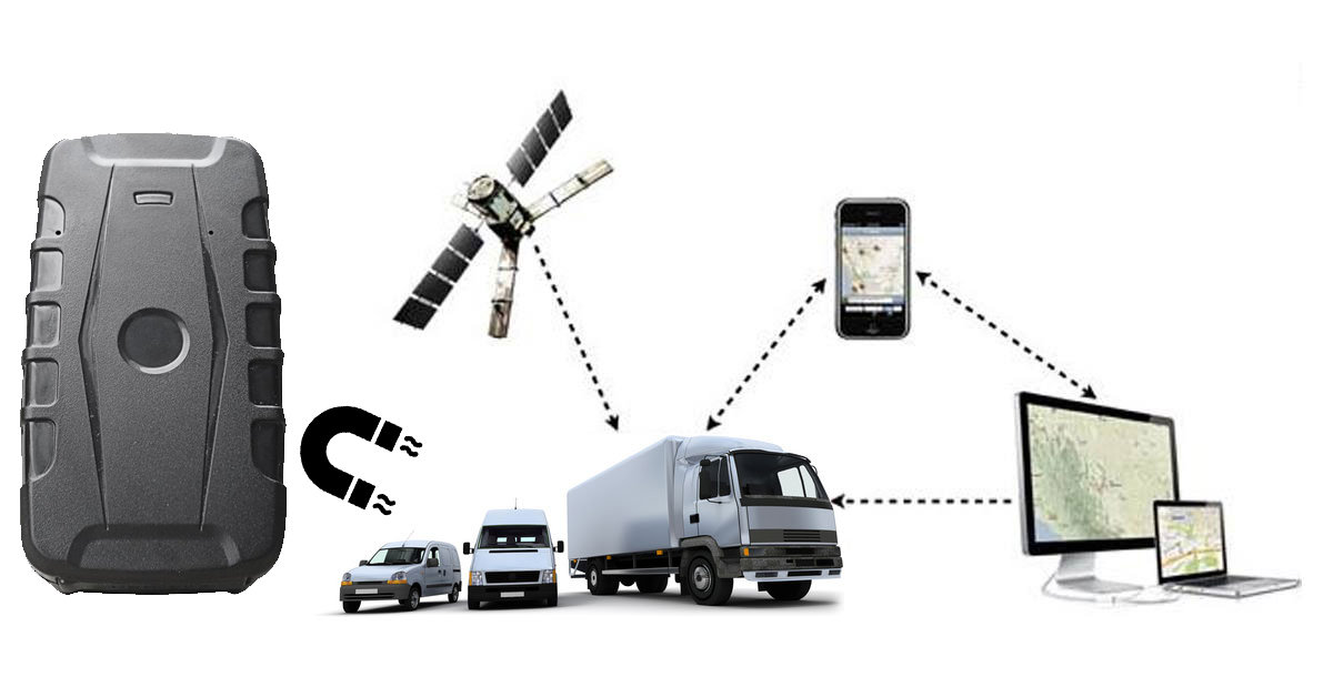 geolocalisation tracker traceur GPS magnetique pour vehicules 22