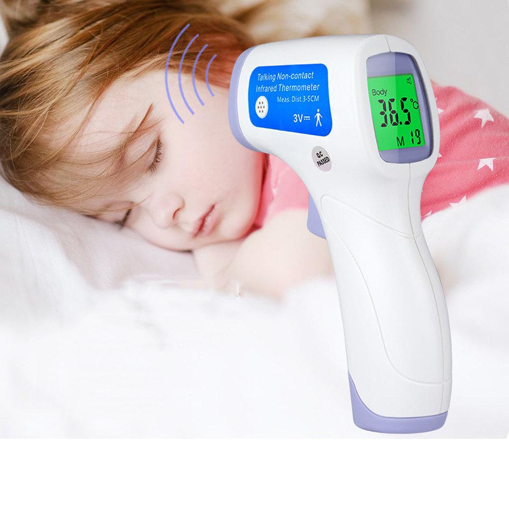 Thermomètre de surface de corps infrarouge sans contact de Floureon Digital 12