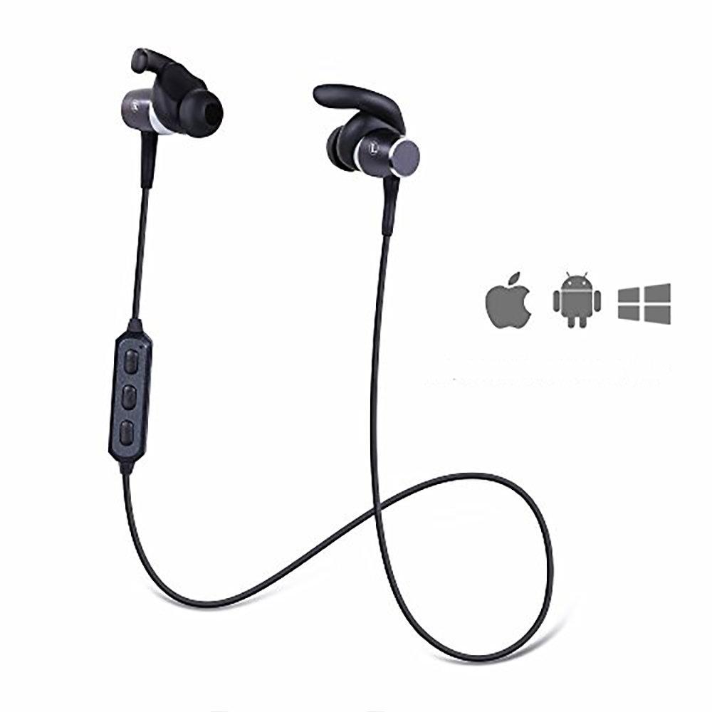 Sound Bass Aimant Bluetooth 4.1 Écouteurs de Sportif- Musique 12