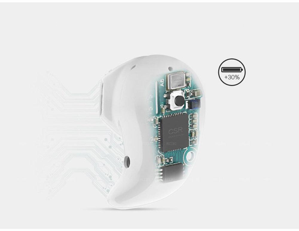 Mini Bluetooth Sans Fil Écouteurs Stéréo Avec Microphone Pour IPhone Samsung 11