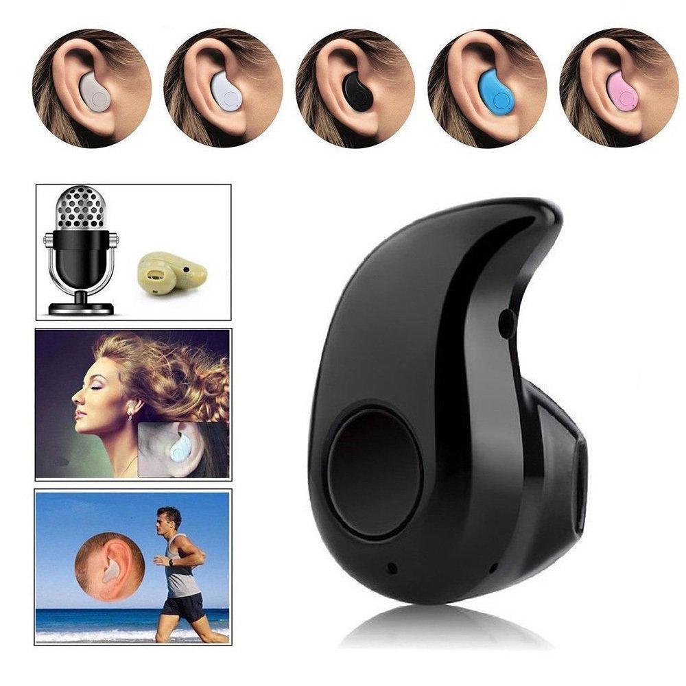 Mini Bluetooth Sans Fil Écouteurs Stéréo Avec Microphone Pour IPhone Samsung 12