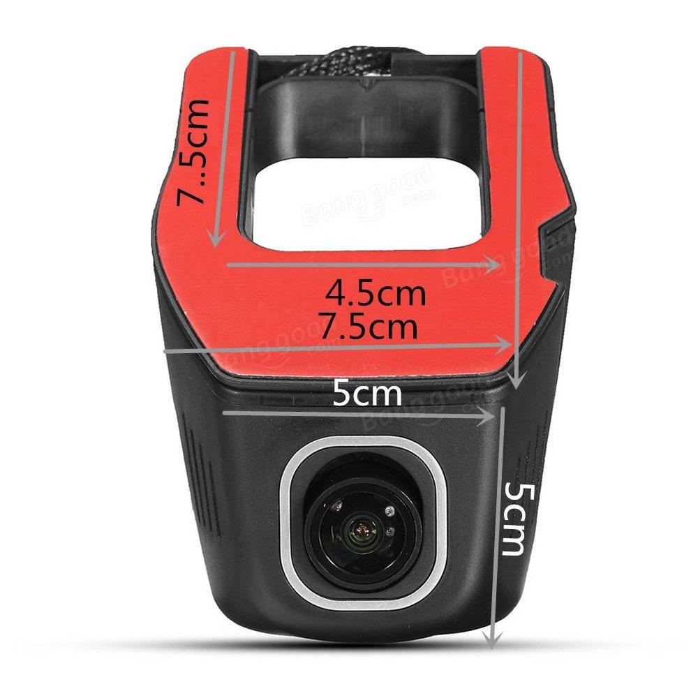 DashCam WIFI Double Caméra pour Voiture 13