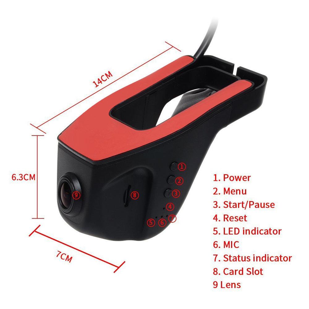 DashCam WIFI Double Caméra pour Voiture 14