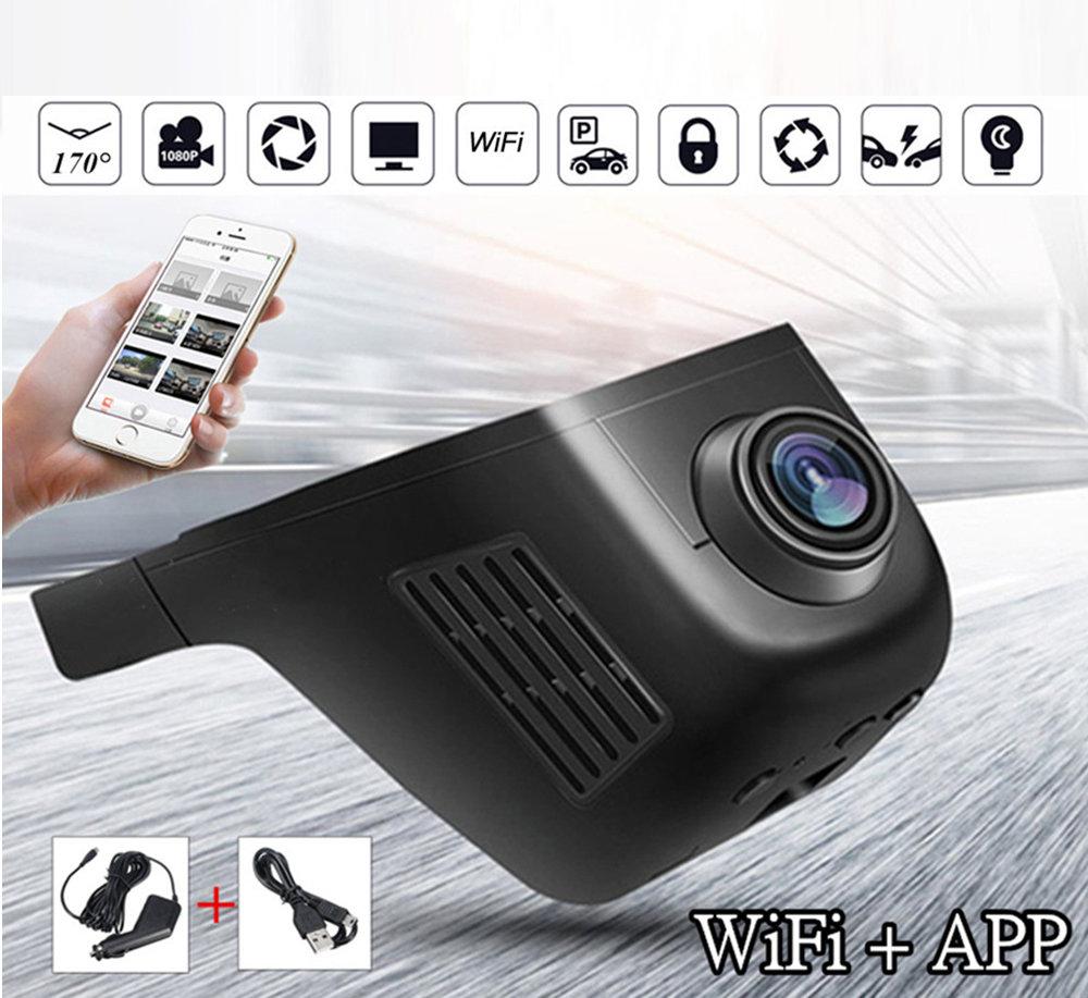 DashCam WIFI Double Caméra pour Voiture 18