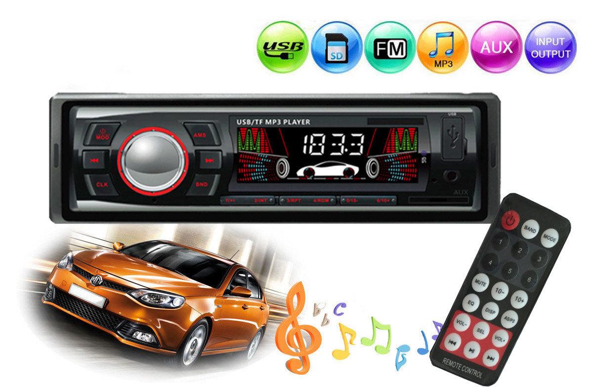 Poste radio pour voiture avec Carte SD/MMC, mp3, écran LCD 12