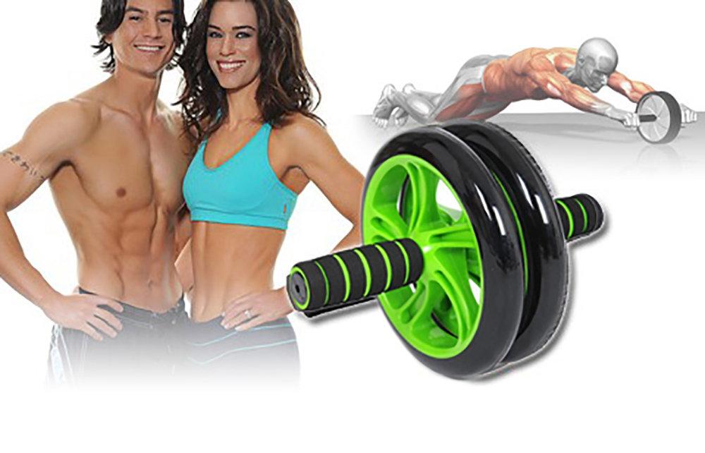 Roue abdominale AB Wheel avec Tapis pour les genoux 12