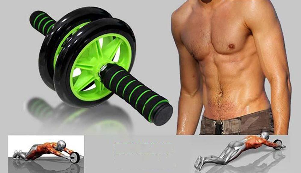 Roue abdominale AB Wheel avec Tapis pour les genoux 15