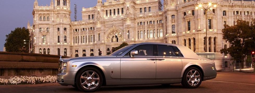 Auto Exotic Rental Houston Rolls Royce Phantom