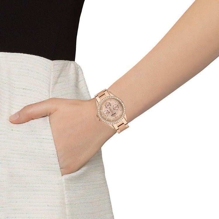1e88b6e4f17a reloj mujer Fossil Riley Multifunction Rose Gold-plated Ladies Watch ES2811  oro rosado
