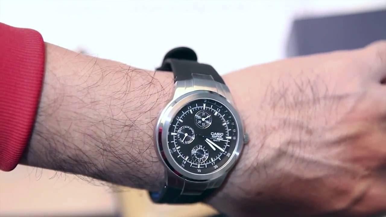Multifuncional Reloj Casio 305 1a Cronografo Edifice Ef 9HI2ED
