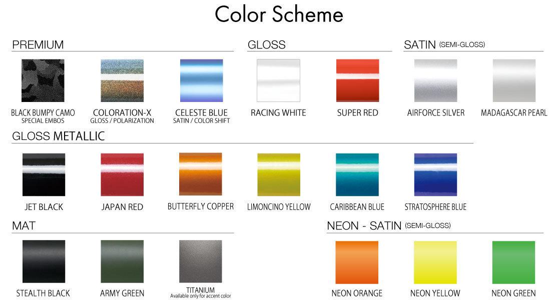 Wrapgrade Poly Skin for DJI Mavic 2 | Color scheme