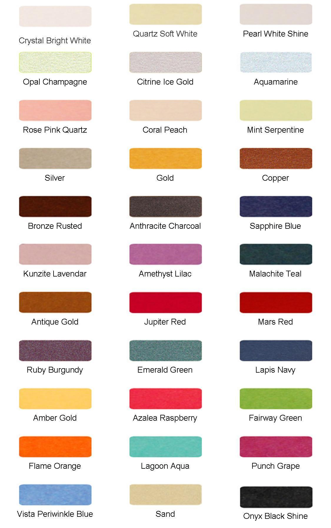 Pearlescent Colors