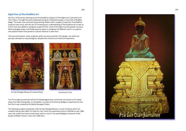 Famous Thai Buddha Statues
