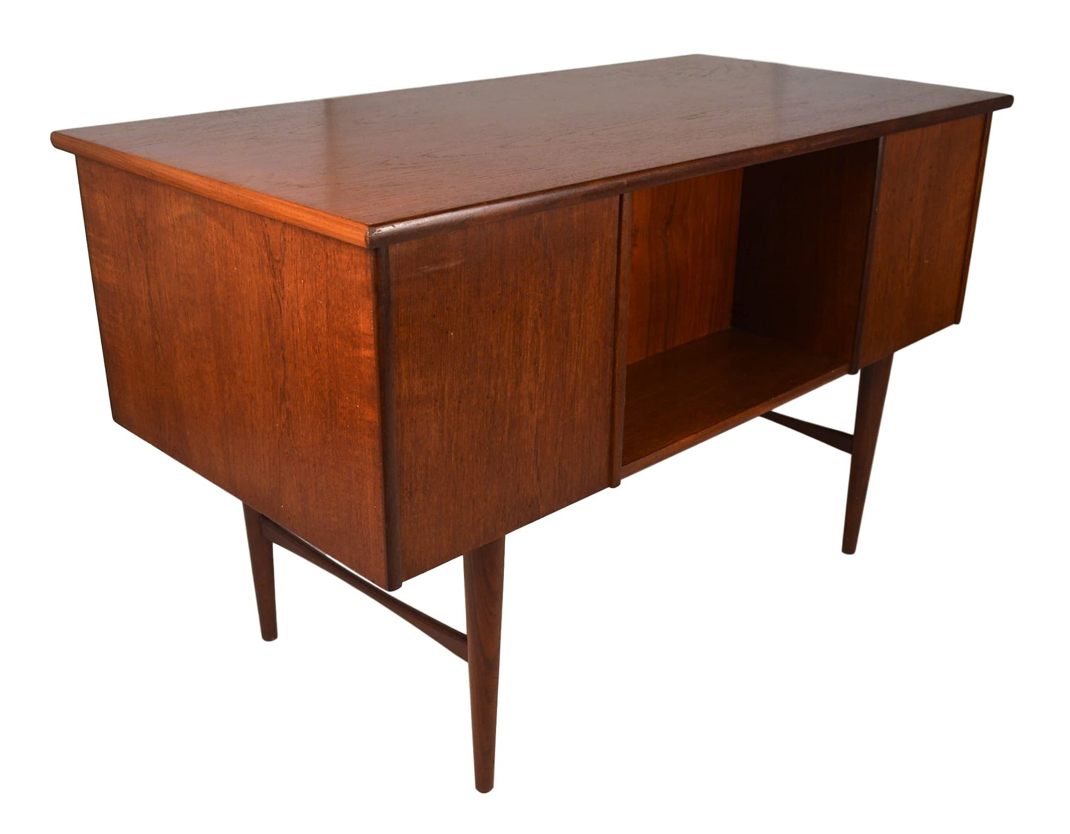img danish sold teak desk