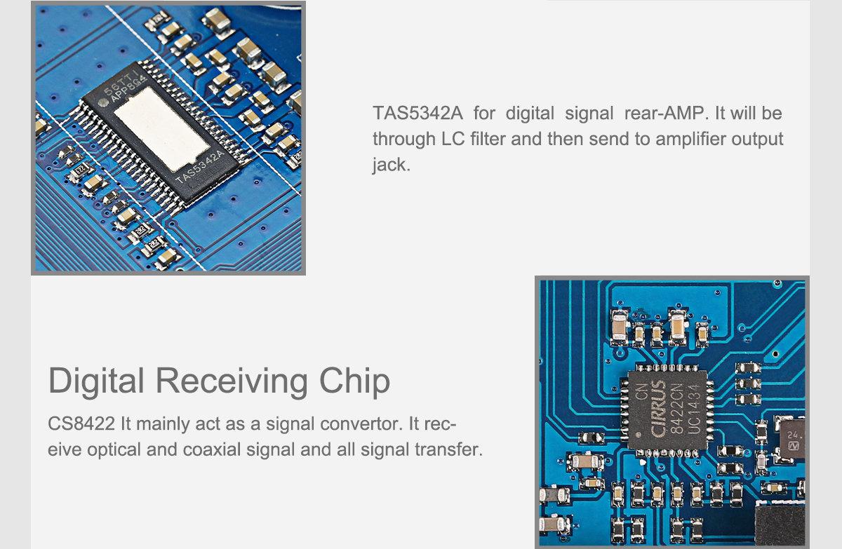 SMSL AD18 80W x 2 Full Digital Power HiFi Amplifier (Version 3 0)