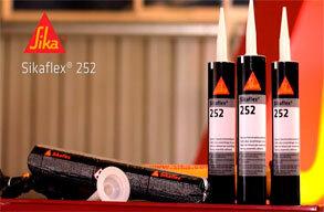 aplicacion del sikaflex 252