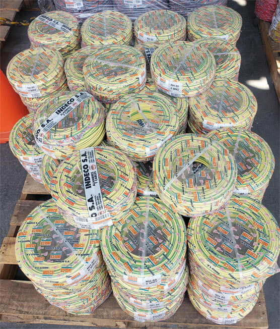 cable nhx90 verde amarillo indeco