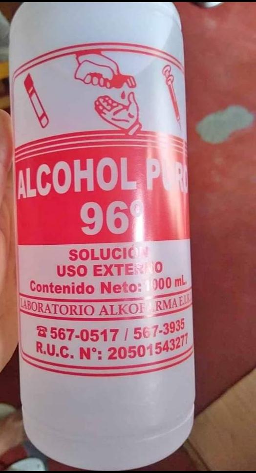 comprar alcohol peru