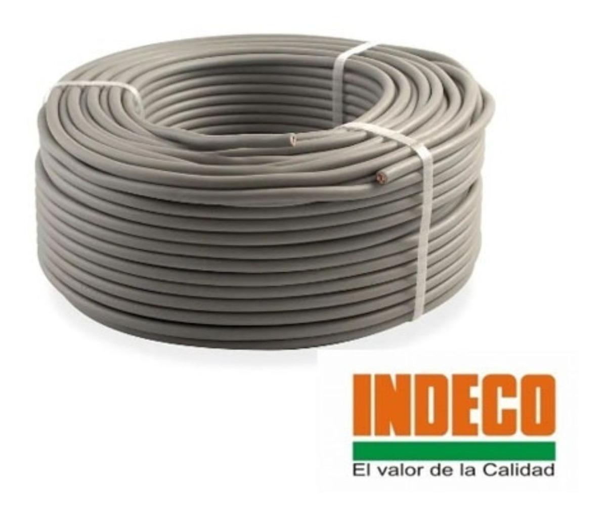 cable vulcanizado indeco 2x16 awg