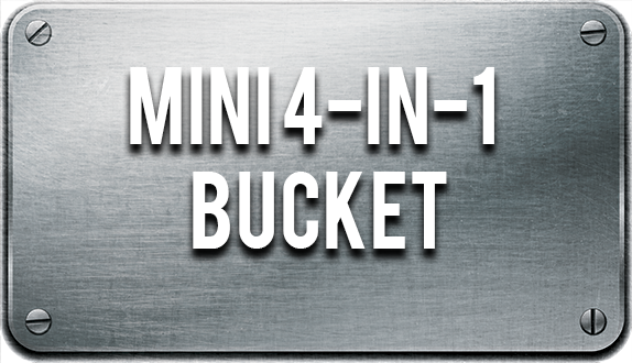 Mini Combo Bucket by Blue Diamond