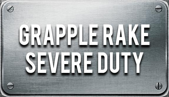 Blue Diamond Severe Duty Grapple Rake