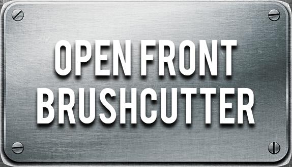 Skid Steer Open Front Brush Cutter