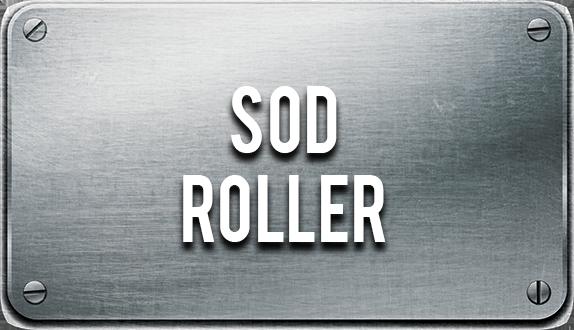 Skid steer sod roller