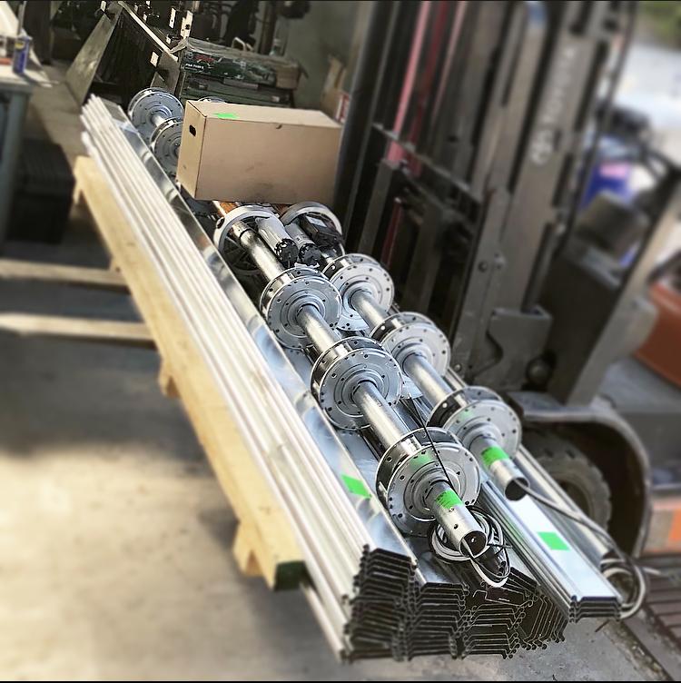 fabricant de rideau roulant en acier galvanisé