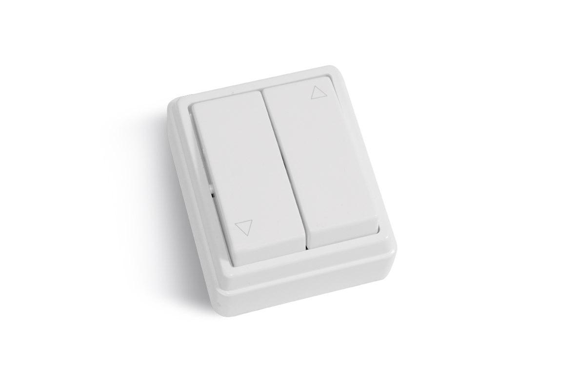 Boitier de commande à boutons pour rideau métallique : montée et descente du rideau métallique électrique