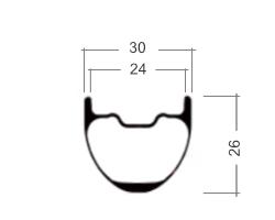 Profile rim PINE