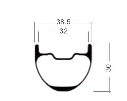 Profile rim PINE 32