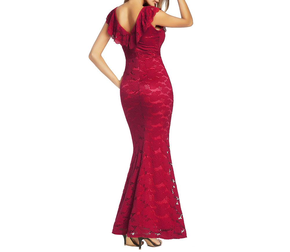 Formal Vintage Lace Sheath Dresses