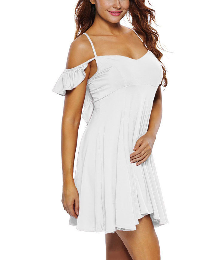 Flirty Ruffled Cocktail Dress
