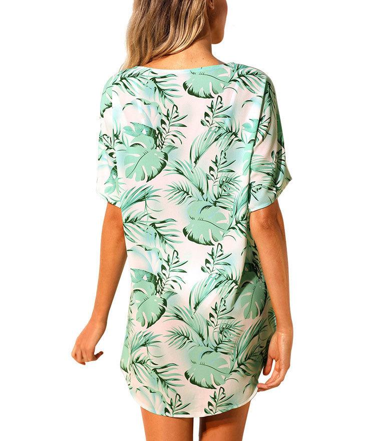 Short Casual Dress for Beach Wear