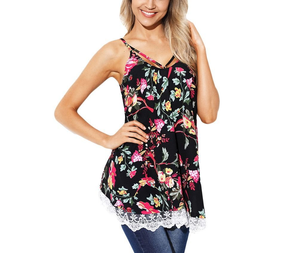 Strappy Large Size Swing Top
