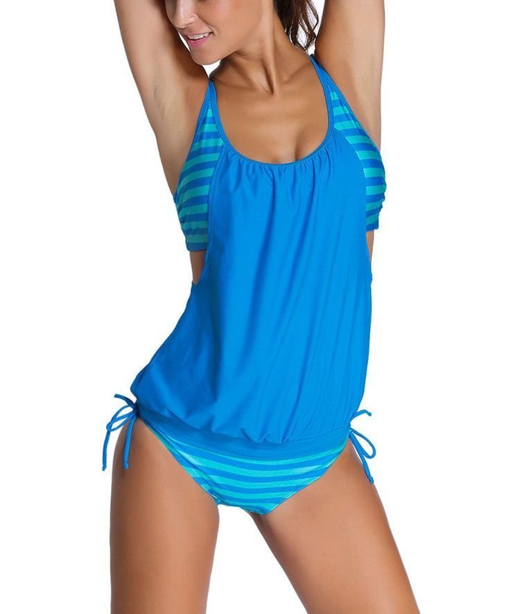 X-Back Tankini Swimsuit
