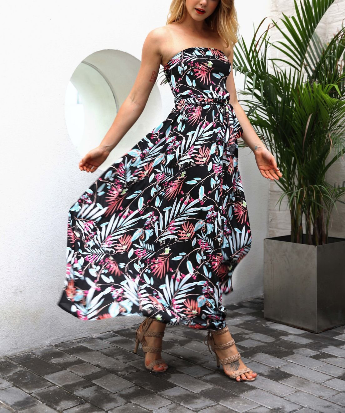 First Love Formal Dress with Full Chiffon Skirt