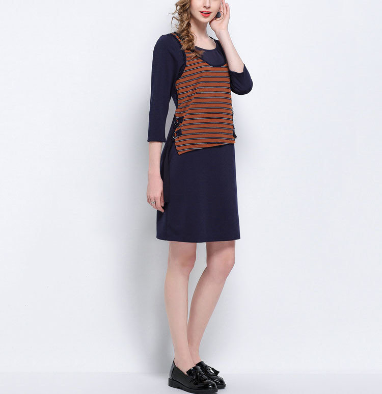 Casual Dress with 2-Piece Look