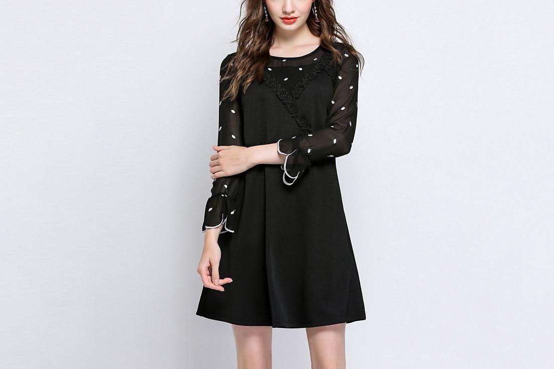 Cute Plus Size Cocktail Dress
