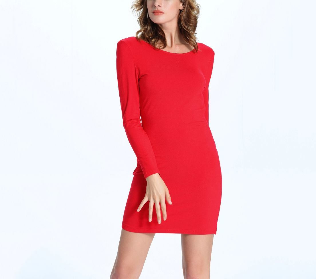Cocktail Dress with Draped Cowl Back