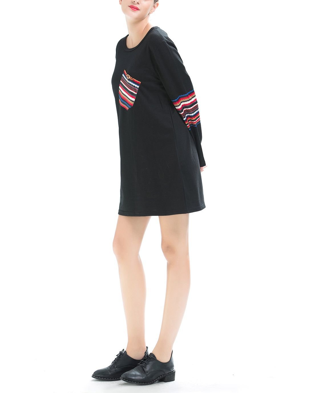 Large Size Tee in Tunic or Mini Dress Length